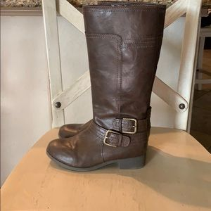 Nine West Girls Riding Boots
